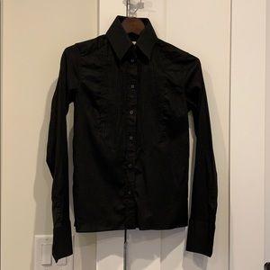KARL LAGERFELD X HM tuxedo shirt